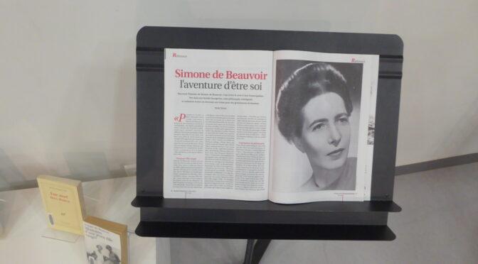 Exposition Beauvoir médiathèque