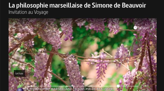Texte La Philosophie marseillaise Beauvoir